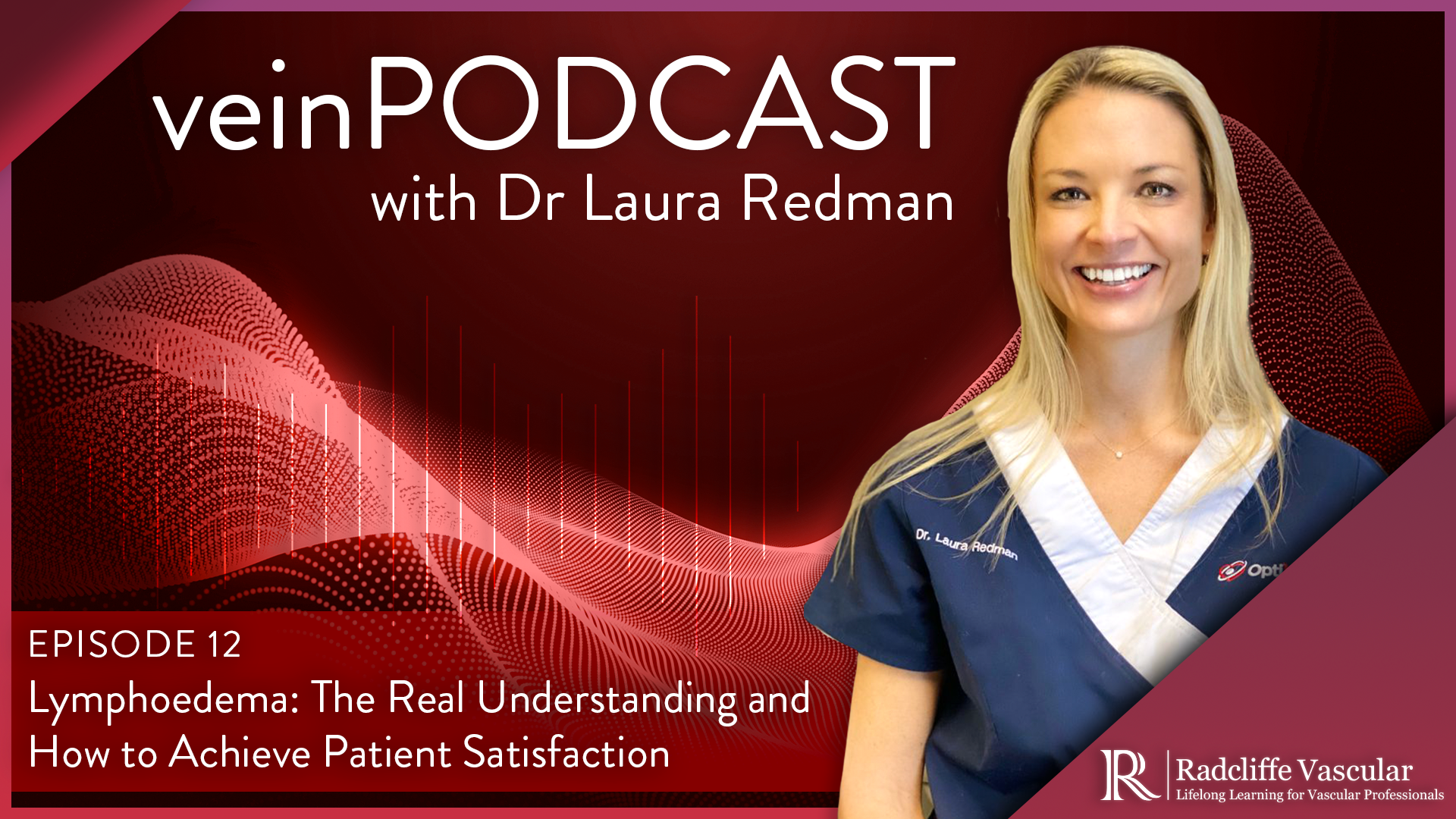veinPodcast - Ep 12 - Lymphoedema: The Real Understanding and How to Achieve Patient Satisfaction