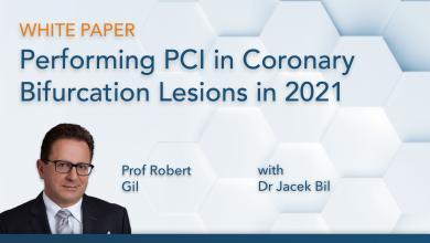 PCI in coronary lesions