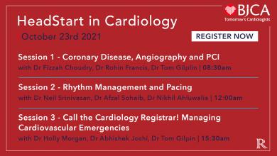 HeadStart in Cardiology: BJCA Autumn Meeting 2021