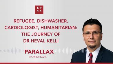 EP 44: Refugee, Dishwasher, Cardiologist, Humanitarian: The Journey of Dr H