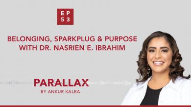 EP 53: Belonging, Sparkplug & Purpose with Dr. Nasrien E. Ibrahim