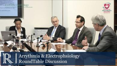 Roundtable Discussion: Arrhythmia & Electrophysiology