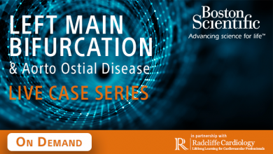 Left Main Bifurcation Live Case Series