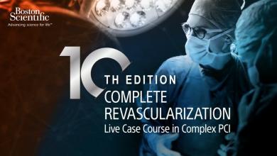 10th Edition Complete Revascularization Live Case Course in Complex PCI