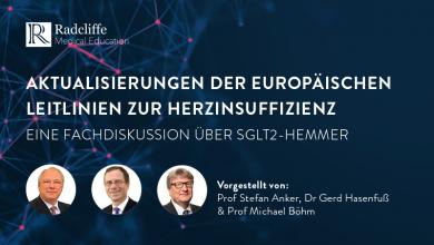 Aktualisierungen der europäischen Leitlinien zur Herzinsuffizienz: Eine Peer-to-Peer-Diskussion über SGLT-2-Hemmer