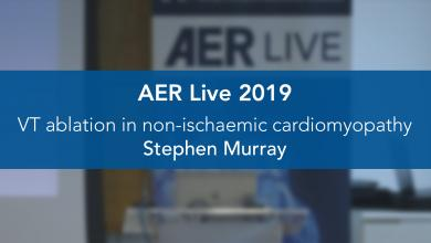 VT ablation in non-ischaemic cardiomyopathy