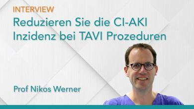 Reduzieren Sie die CI-AKI Inzidenz bei TAVI Prozeduren
