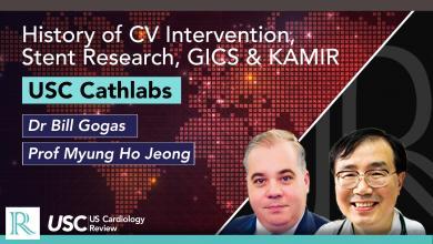 History of CV Intervention, Stent Research, GICS & KAMIR in Korea