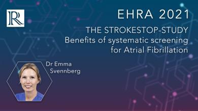 EHRA 2021: The STROKESTOP-Study