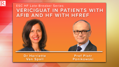 ESC HF 21 Discussion: Vericiguat in Patients with AFIB and HF with HFrEF