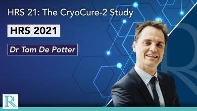 HRS 2021: The CryoCure 2 Study