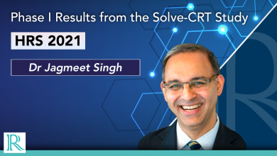 HRS 2021: Phase I Results from the Solve-CRT Study