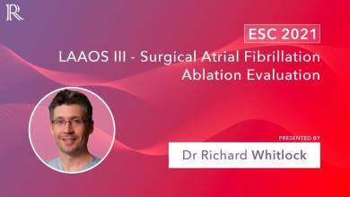 The LAAOS III Study: Surgical AFIB Ablation Evaluation