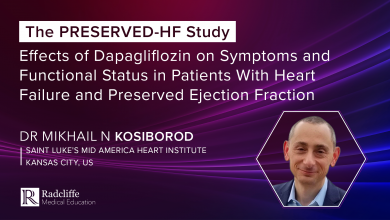 The PRESERVED-HF Study: Effects of Dapagliflozin on Symptoms and Functional Status in Patients With Heart Failure and Preserved Ejection Fraction