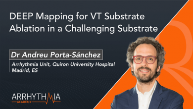 DEEP Mapping for VT Substrate Ablation in a Challenging Substrate