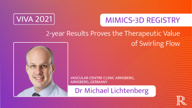 MIMICS-3D Registry: 2-year Results Proves the Therapeutic Value of Swirling Flow