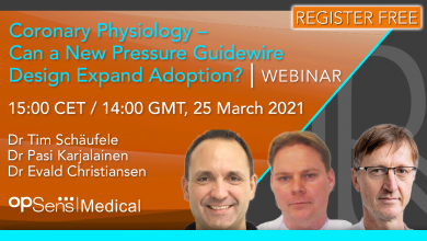 Coronary Physiology – Can a New Pressure Guidewire Design Expand Adoption?