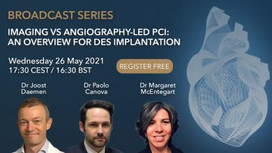 Imaging vs Angiography-led PCI: An Overview for DES Implantation - Broadcast One