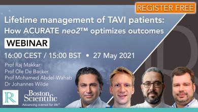 Lifetime management of TAVI patients: How ACURATE neo2™ optimizes outcomes