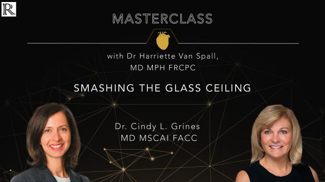 Masterclass: Smashing the Glass Ceiling with Dr Cindy L Grines