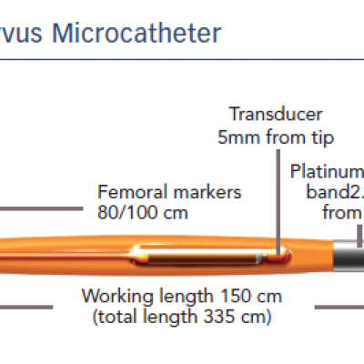 The Navvus Microcatheter