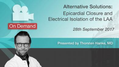 Epicardial Closure & Electrical Isolation of the LAA