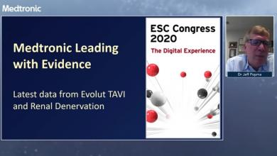 Medtronic Leading with Evidence: Latest data from Evolut TAVI and Renal Denervation