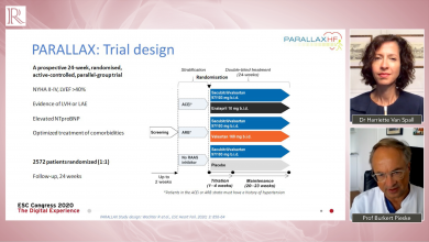 ESC 2020 Discussion: The PARALLAX Trial