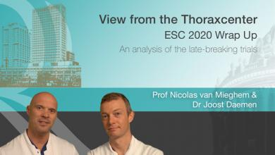 View From the Thoraxcenter: Wrap Up of ESC 2020 - Van Miehem and Joost Daemen
