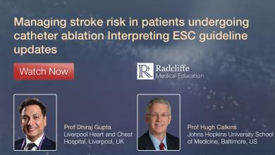 Managing stroke risk in Patients Undergoing Catheter Ablation