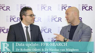 EuroPCR 2018: FFR SEARCH - Dr Nicolas Van Mieghem & Dr Roberto Diletti