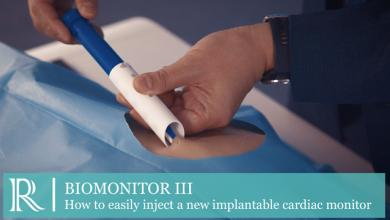 ESC 2019 - BIOMONITOR III How to easily inject a new implantable cardiac monitor