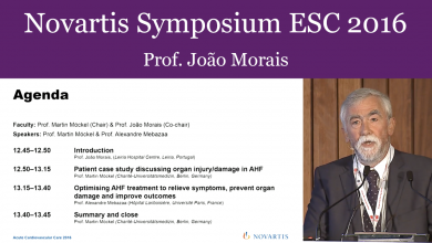 Rationale for Addressing Symptoms and Organ Injury in Acute Heart Failure Treatment - ESC ACCA Lisbon 2016