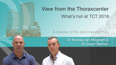 View From the Thoraxcenter: What's Hot at TCT 2018