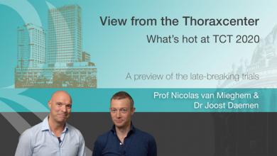 View From The Thoraxcenter: What's Hot at TCT 2020