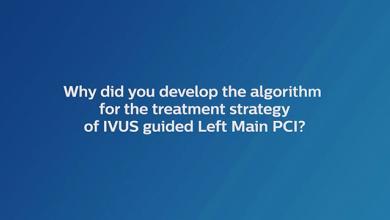 Left Main PCI IVUS guided left main PCI