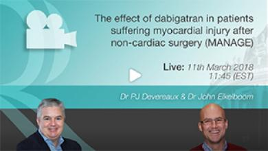 Expert Discussion: The Effect of Dabigatran in Patients Suffering Myocardial Injury After Non-Cardiac Surgery (MANAGE)