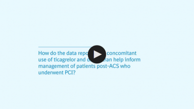 How do the data reported on concomitant use of ticagrelor