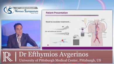 VS 2019 - Thrombus Extending in the IVC - Dr Efthymios Avgerinos