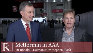 ESVS 2019: Effect of prescription of Metformin on AAA - Dr Ronald L Dalman and Dr Stephen Black