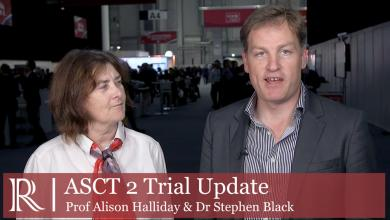 ESVS 2019: ASCT 2 Trial Update-Prof Alison Halliday and Dr Stephen Black