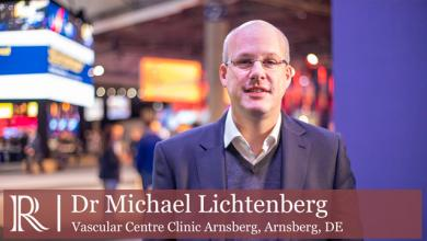 LINC 2020: IVUS vs fluoroscopic guided recanalization for iliofemoral obstruction — Dr Michael Lichtenberg