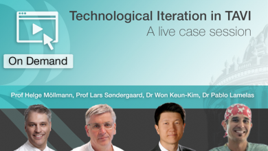 Technological Iteration in TAVI: A live case session