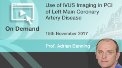 Use of IVUS Imaging in PCI of Left Main Coronary Artery Disease