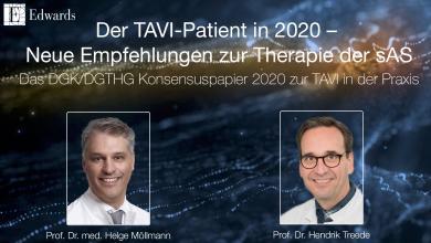 Der TAVI-Patient in 2020 – Neue Empfehlungen zur Therapie der sAS