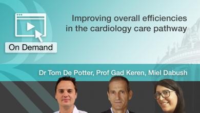 Improving overall efficiencies in the cardiology care pathway